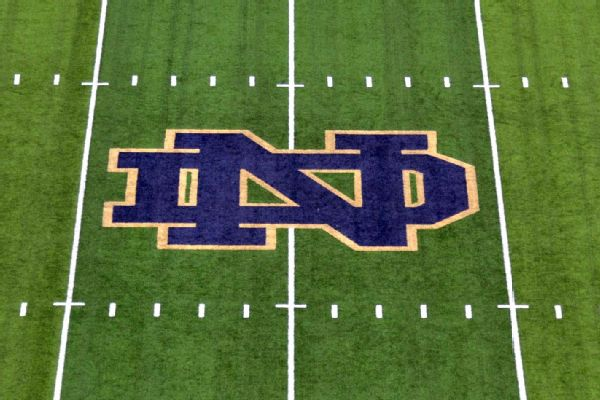 Notre Dame placed on probation for one year