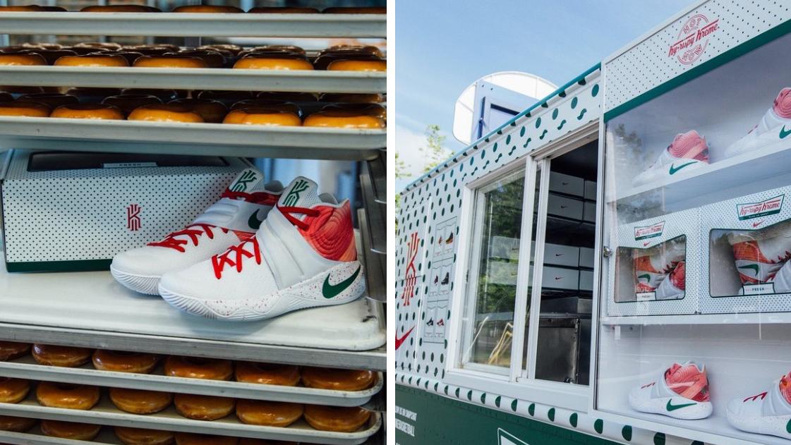 Nike rolls out 'Ky-rispy Kreme' truck