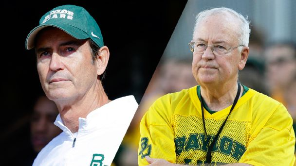 Art Briles and Ken Starr