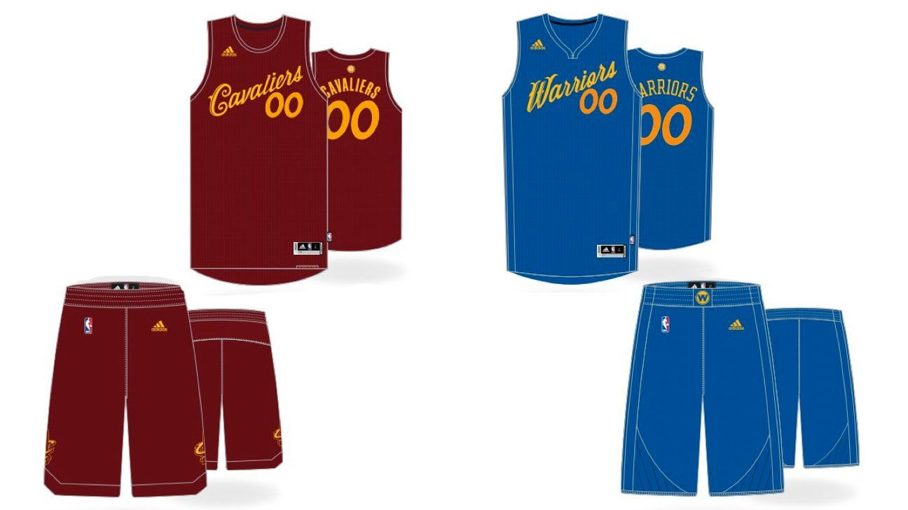 scoop on the NBA's Christmas uniforms