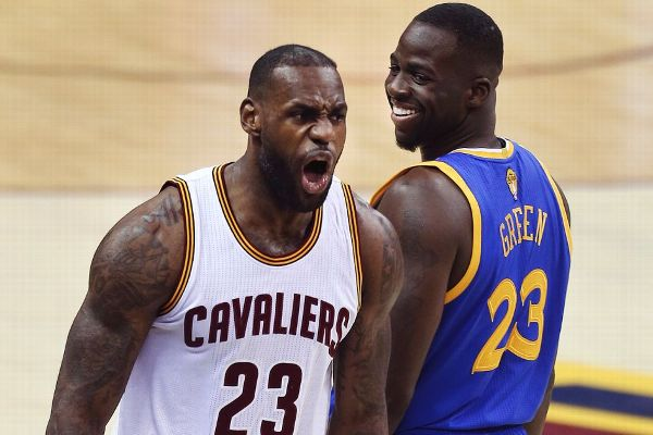 480fb74a5985 Draymond Green impressed by LeBron James  photographic memory ...