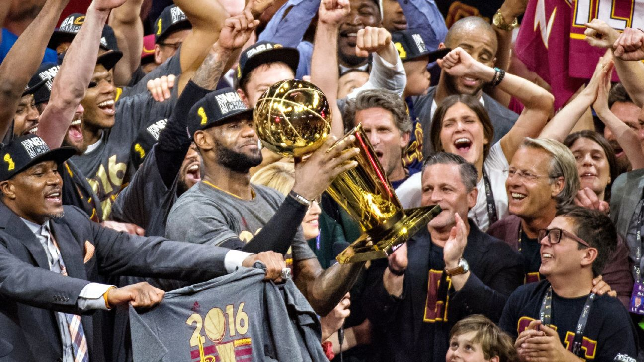 392cfcbb1d0 LeBron James  Cavs  title  made me the greatest player of all time ...