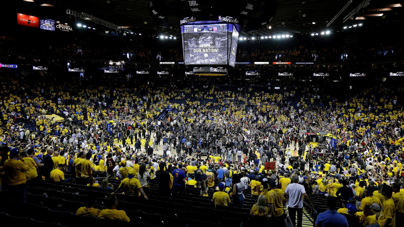 Buyer Pays 133k For Two Courtside Tickets To Game 5 Of Nba Finals