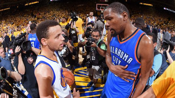 c1f92bd60d6 Kevin Durant has joined up with Stephen Curry and signed with the Warriors.