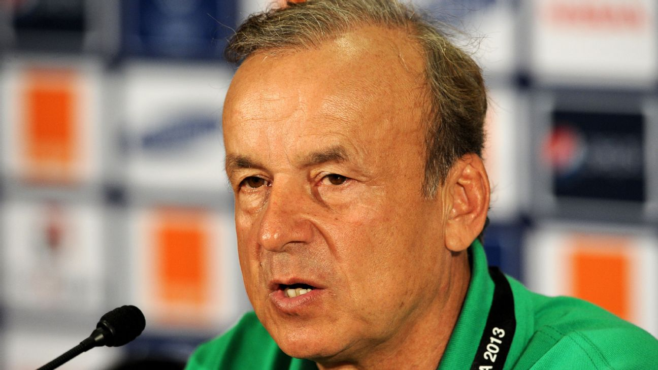 Gernot Rohr signs Super Eagles contract extension