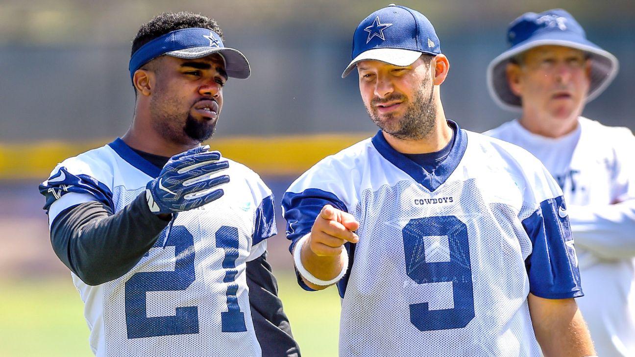 Tony Romo Says Dallas Cowboys Rb Ezekiel Elliott A Good Kid Despite Mistakes