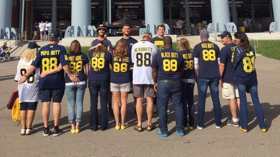 Jake Butt Michigan Wolverines Football Jersey - Navy