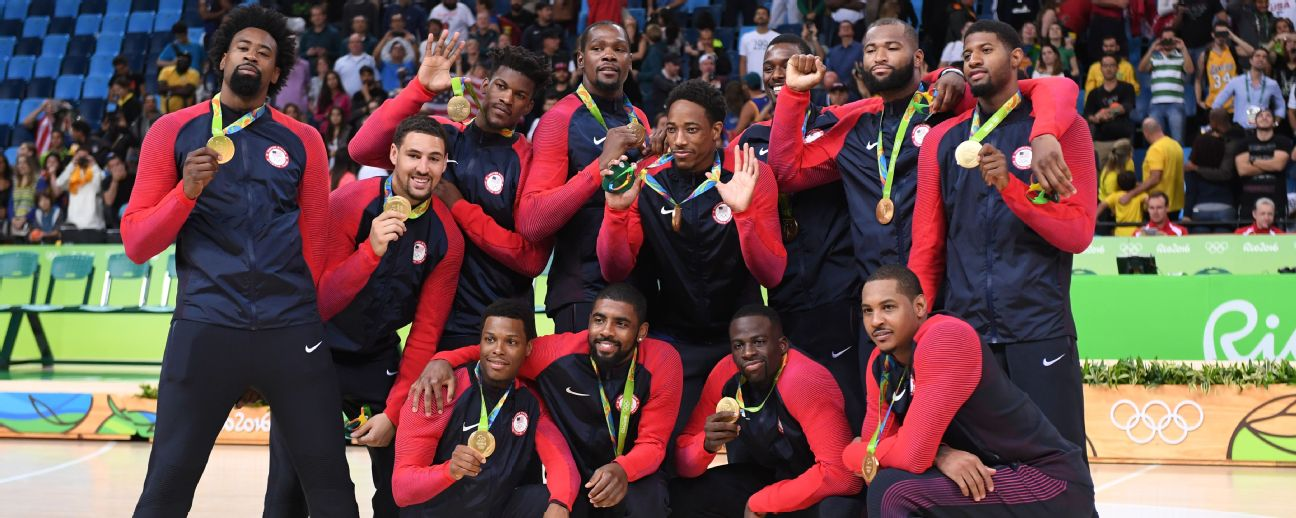d039a9558e31 NBA - USA Basketball Complete coverage at the 2016 Rio Olympics