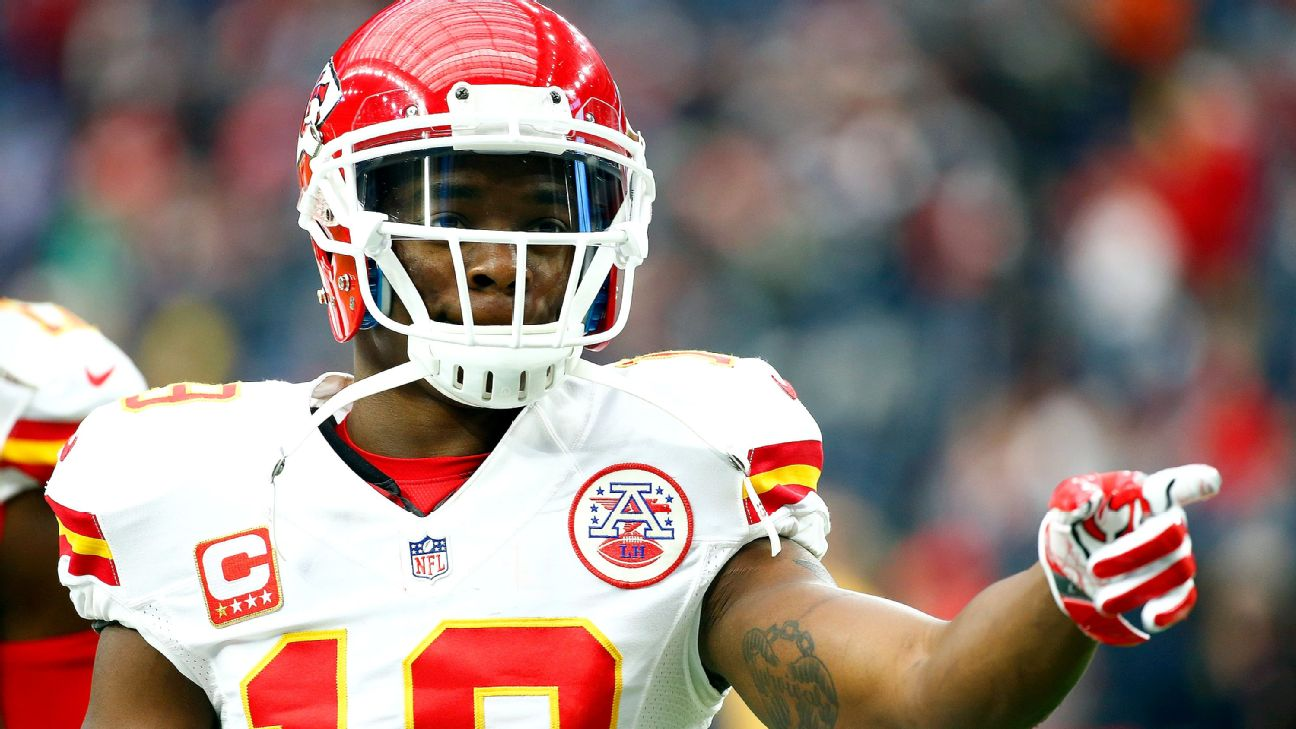 Jeremy Maclin released by Kansas City Chiefs after two seasons