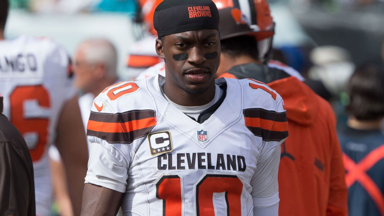 Robert Griffin III to be released by Cleveland Browns