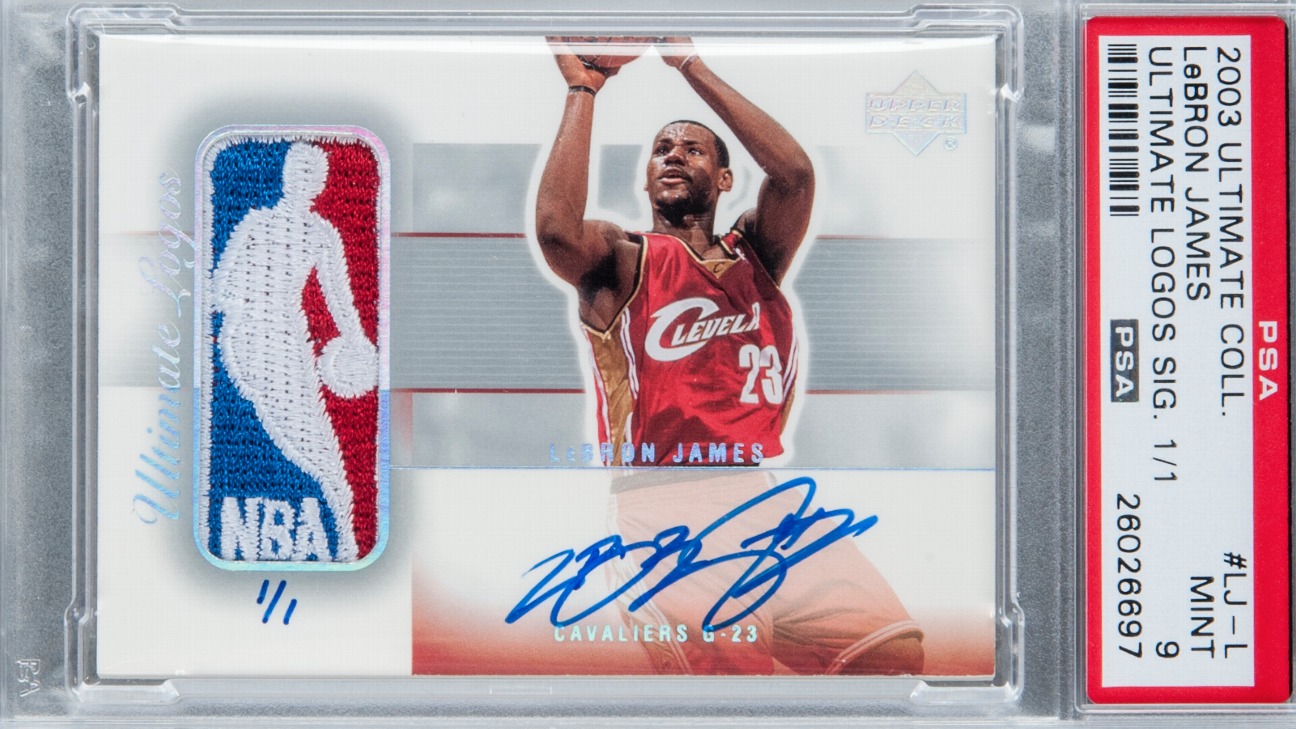 Lebron James Signed Rookie Card Sells For 312 000