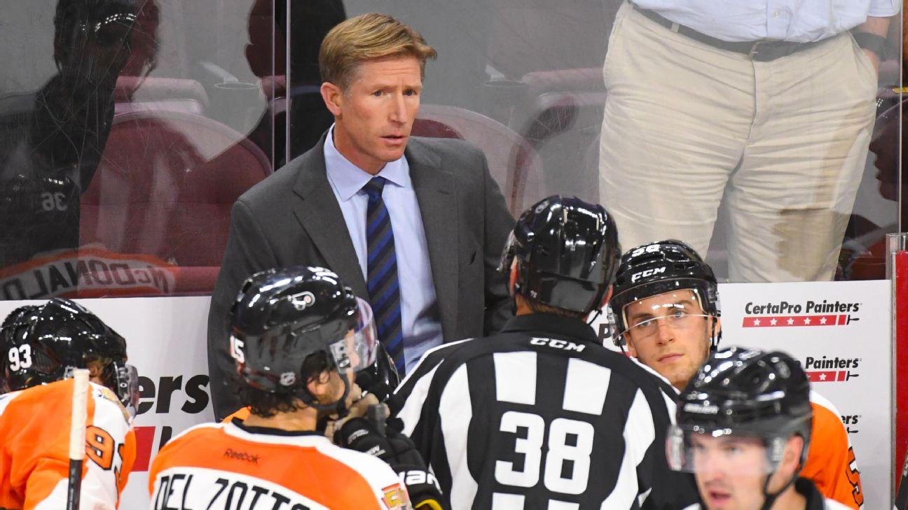 Flyers fire head coach Dave Hakstol. James van Riemsdyk out 5-6 weeks ... 83224526a