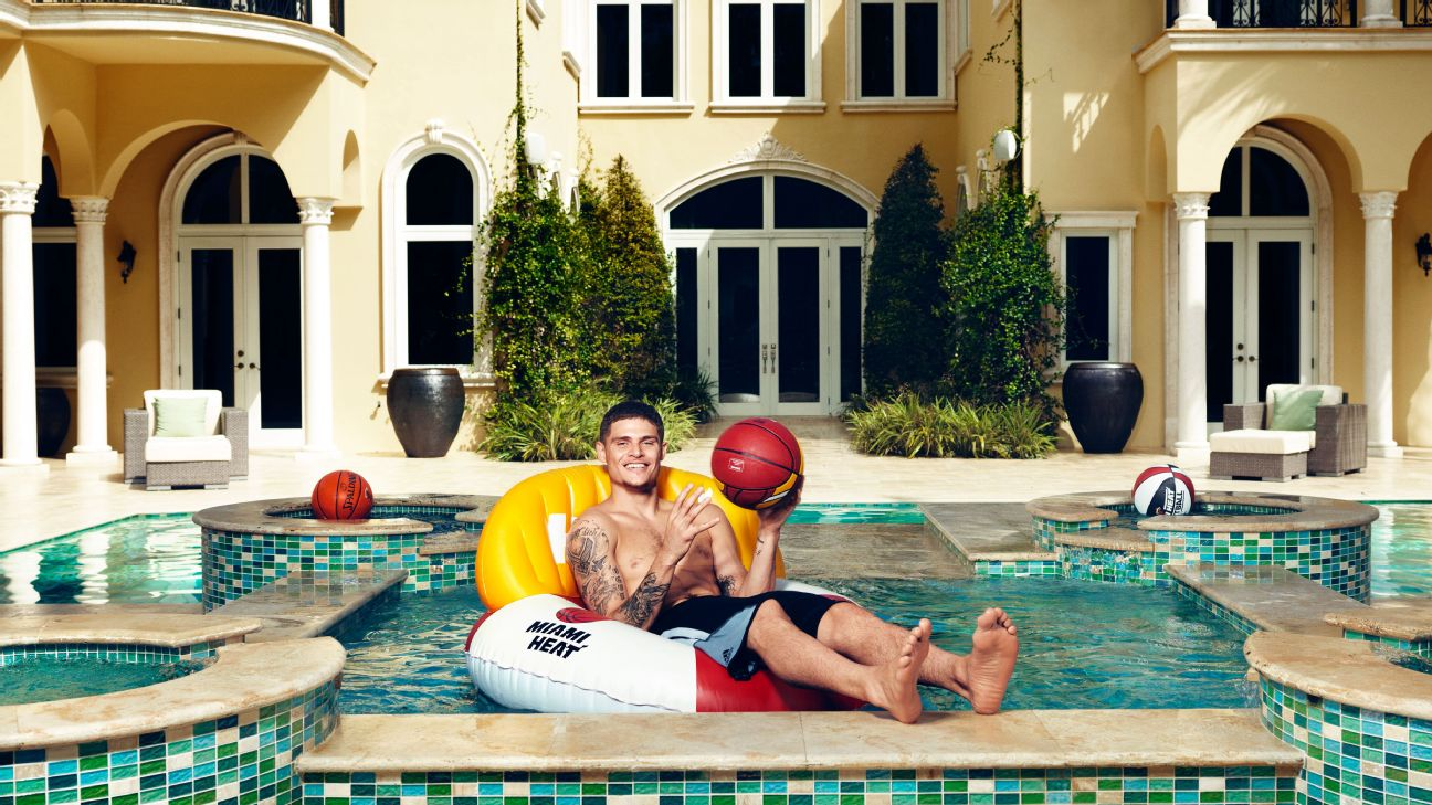 How Miami Heat guard Tyler Johnson ended up with a $50