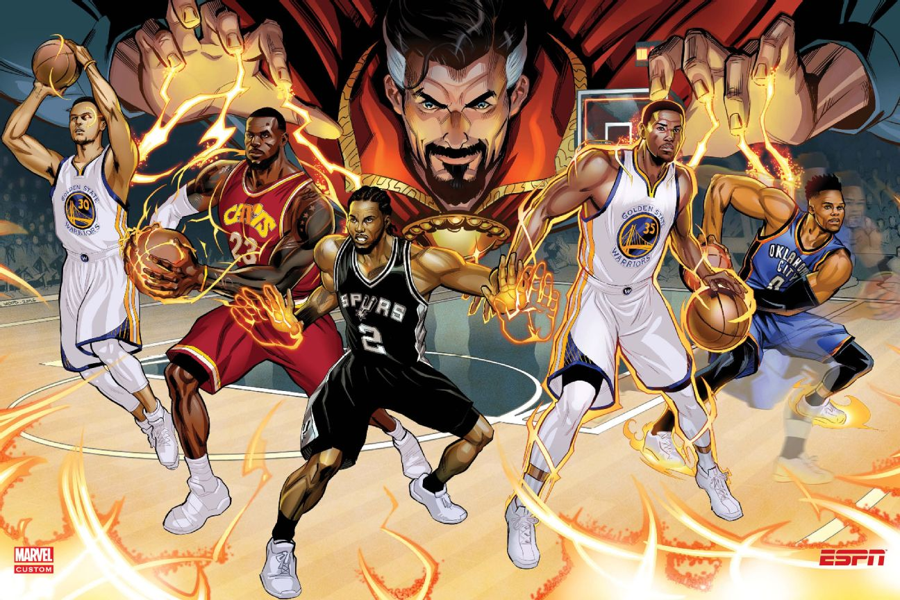 Nike Nba Marvel Wallpaper: Doctor Stephen Strange Gives LeBron James, Stephen Curry