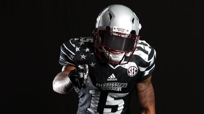 Mississippi State Bulldogs honor POW and MIA soldiers with new  Young  Patriot  uniforms 2d37ef30b