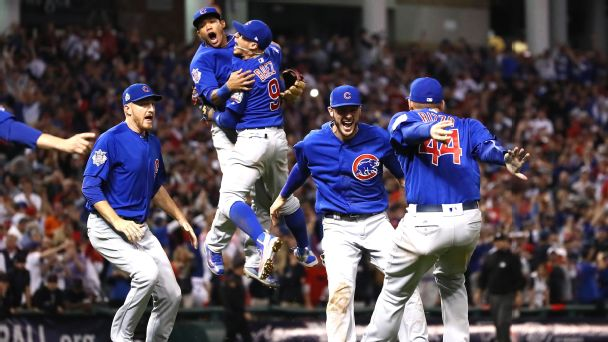 Cubs win! Cubs win! Epic Game 7 victory ends Series curse - SweetSpot- ESPN