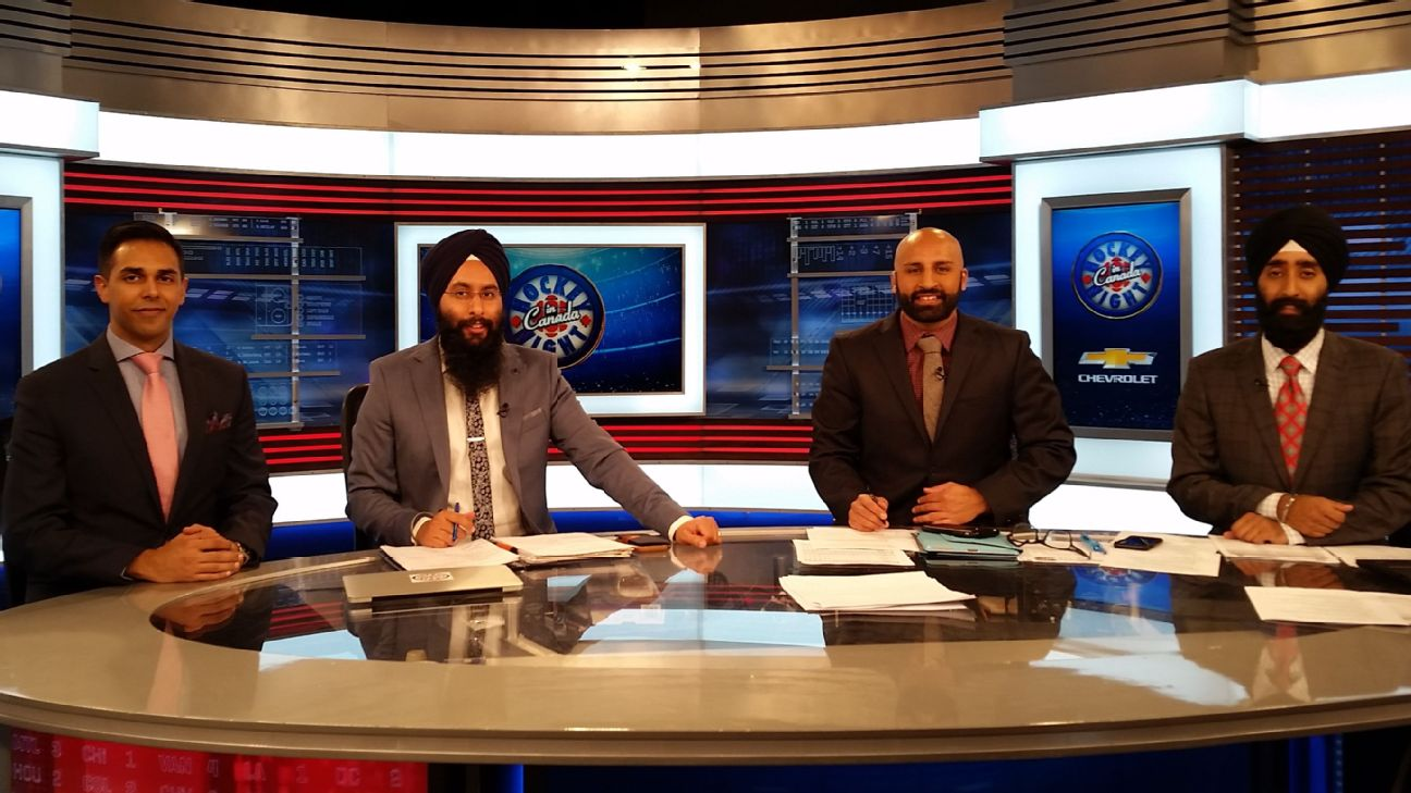 Nhl Punjabi Tv Broadcasters Unite Fans With Awesome Goal Calls Passion For Hockey