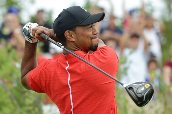 tiger woods derailed by double
