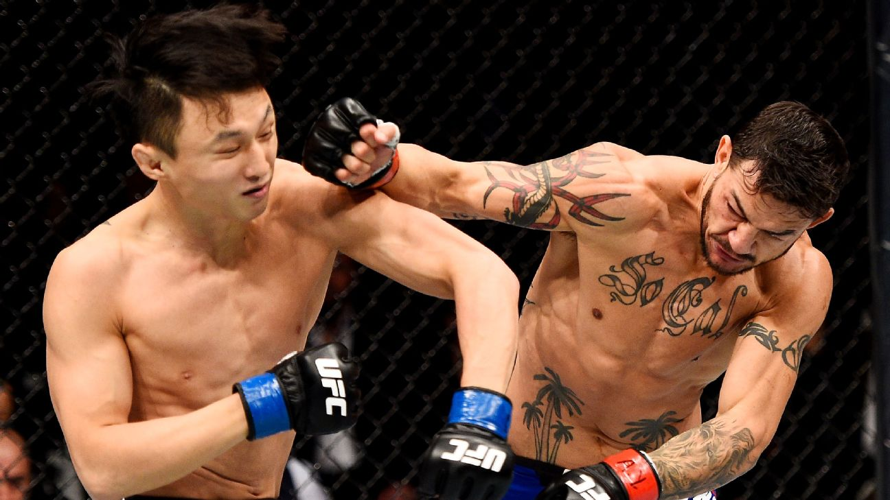 Image result for cub swanson vs doo ho choi