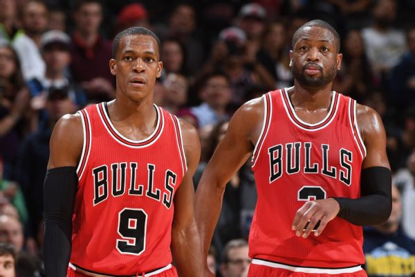 Jimmy Butler, Dwyane Wade: No problem with Rajon Rondo after