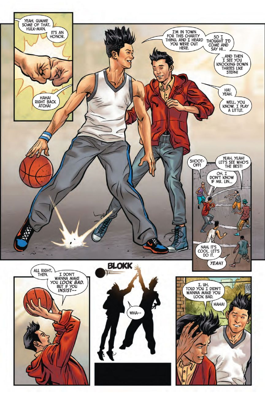 Jeremy Lin featured in Marvel's Totally Awesome Hulk - NBA