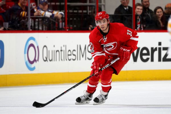 Hurricanes, Derek Ryan agree to 1-year, $1 4M deal | abc11 com