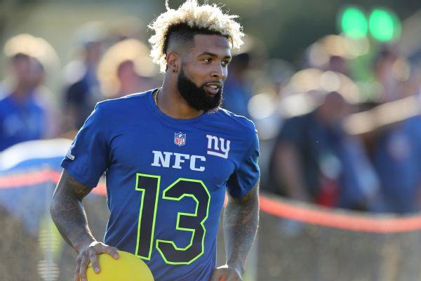 on sale 0ae13 9f6bb NFL praises Odell Beckham Jr. for professionalism at Pro ...