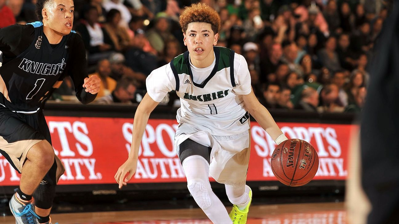 Ucla Bruins Commit Lamelo Ball Brother Of Lonzo Ball Scores 92 In High School Game