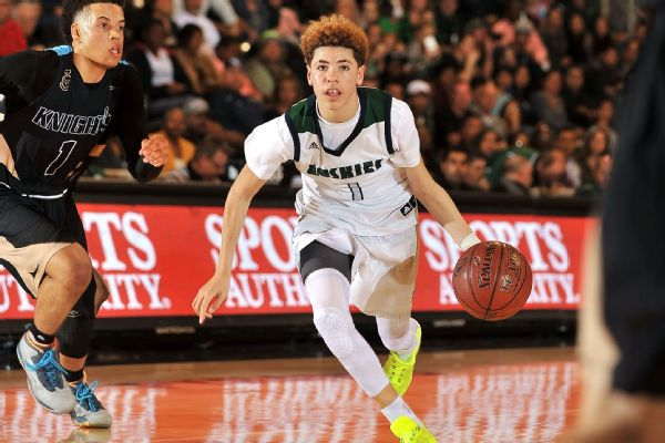 Ucla Commit Lamelo Ball Brother Of Lonzo Scores 92 In High School Abc7 San Francisco