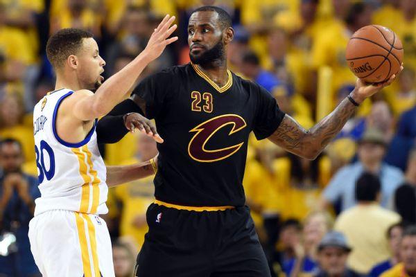 da922698e02 LeBron James  Can t compare me vs. Stephen Curry to classic rivalries