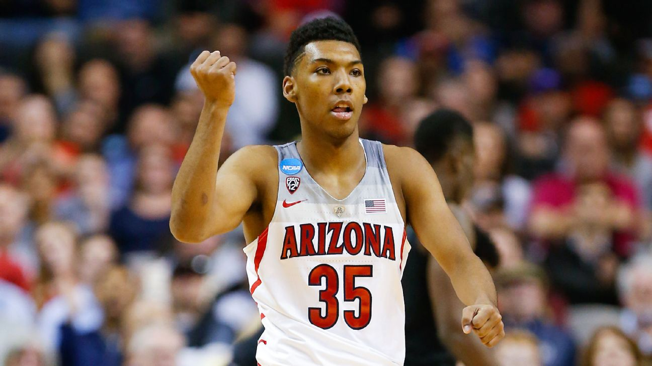 NCAA clears Arizona Wildcats' Allonzo Trier after positive test ...
