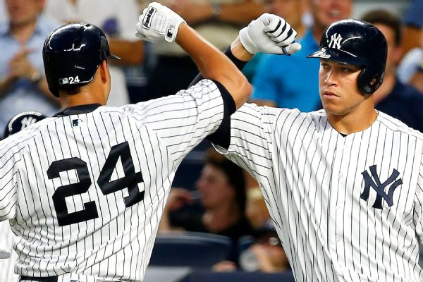 c417e1b3ae8 Judge among young Yankees to get a raise
