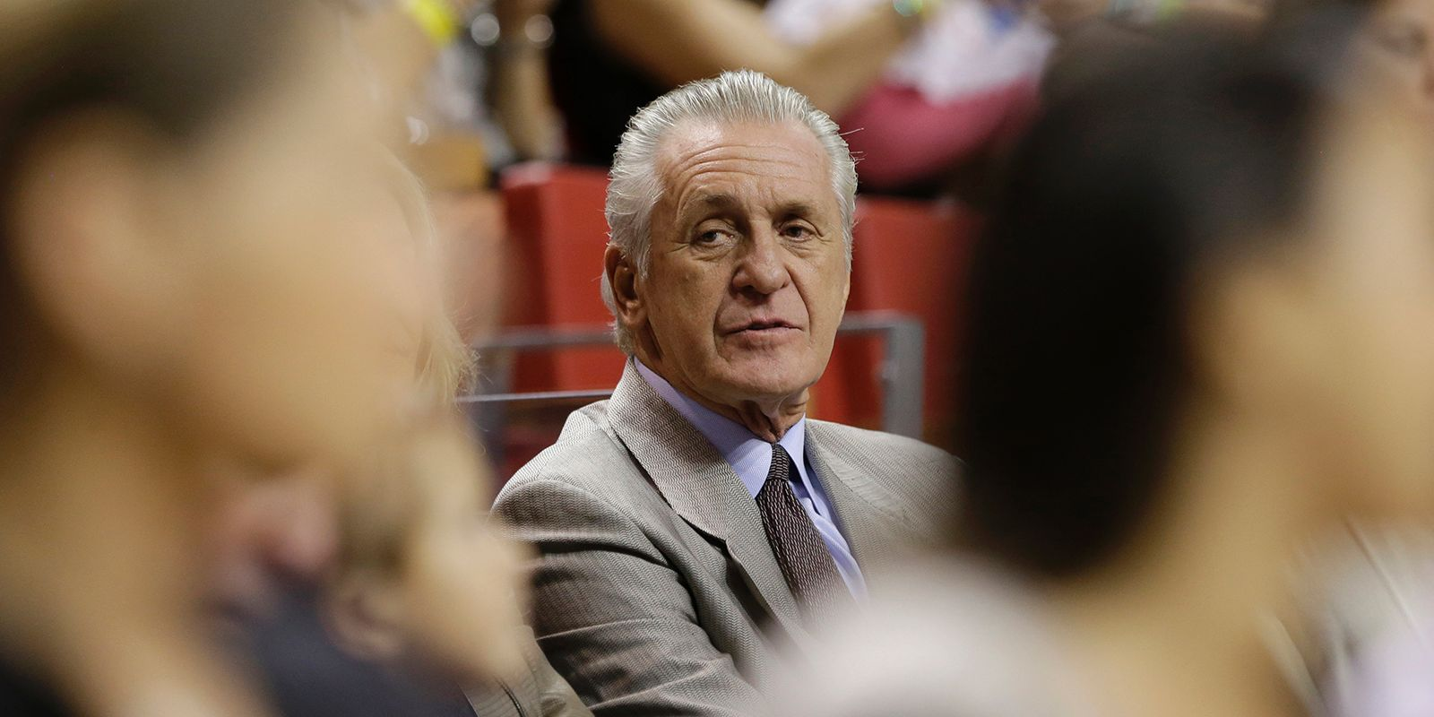 Nba Basketball Miami Heat Bedroom In: Why Miami Heat President Pat Riley Can't Leave The NBA