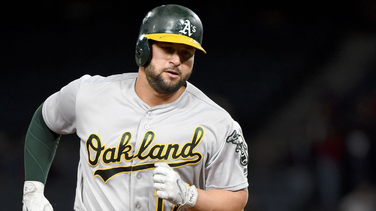 Yonder Alonso traded to Seattle Mariners by Oakland Athletics ...