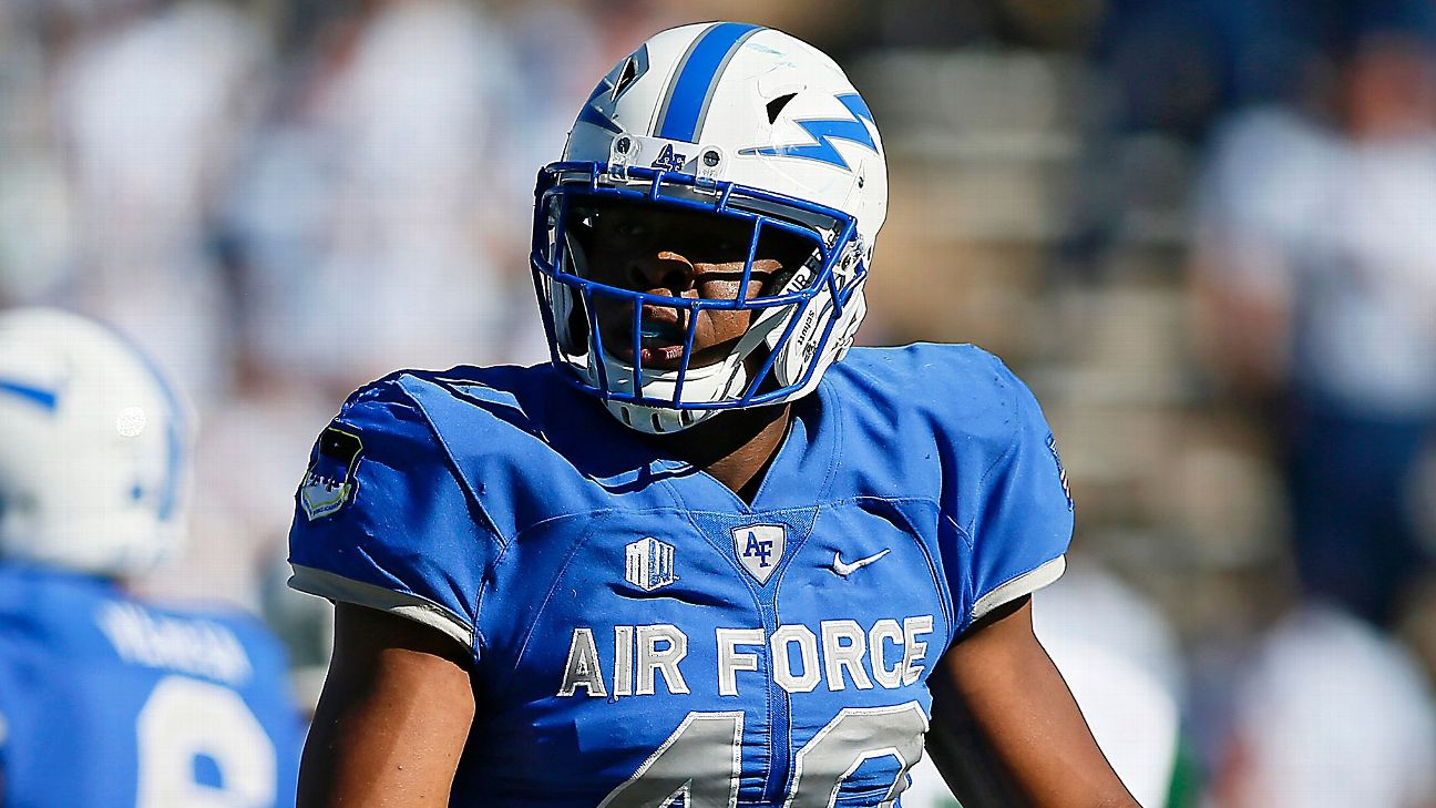 Arizona Cardinals To Try Out Ryan Watson Despite Air Force Rule