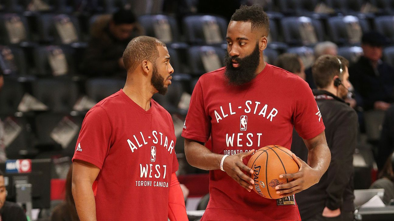 06a79e38235d Rockets duo of Chris Paul and James Harden puts on show at Drew League. Chris  Paul