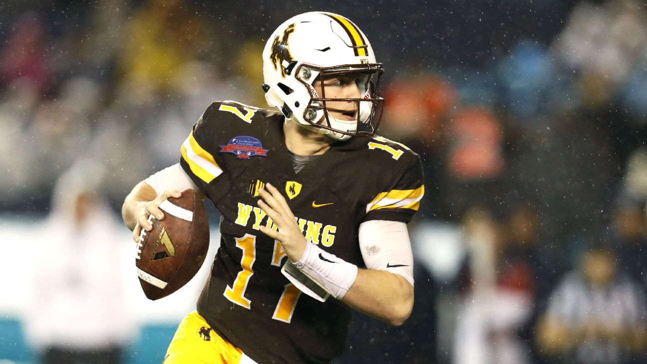 Wyoming Cowboys Josh Allen Goes From Unknown To No 1 Pick In Nfl Draft Buzz