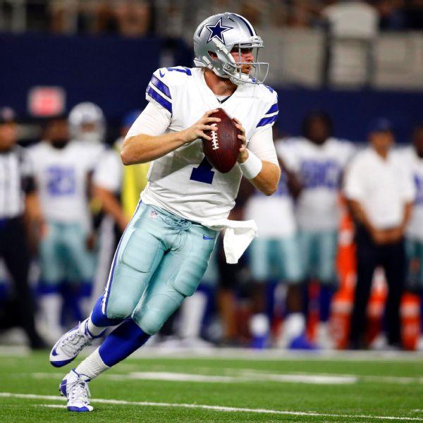 Giants claim ex-Cowboys QB Rush off