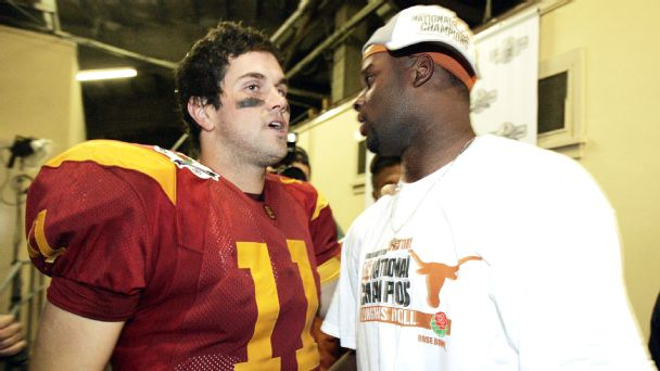 The best of Texas, USC players and coaches live-tweeting 2006 Rose Bowl