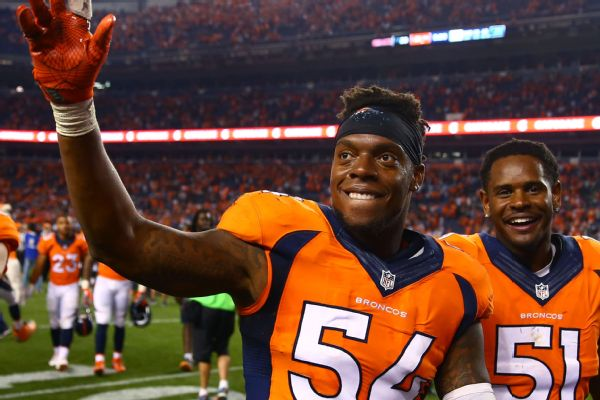 save off 34bde 9c3d3 Broncos LB Brandon Marshall urges teams to sign Colin ...