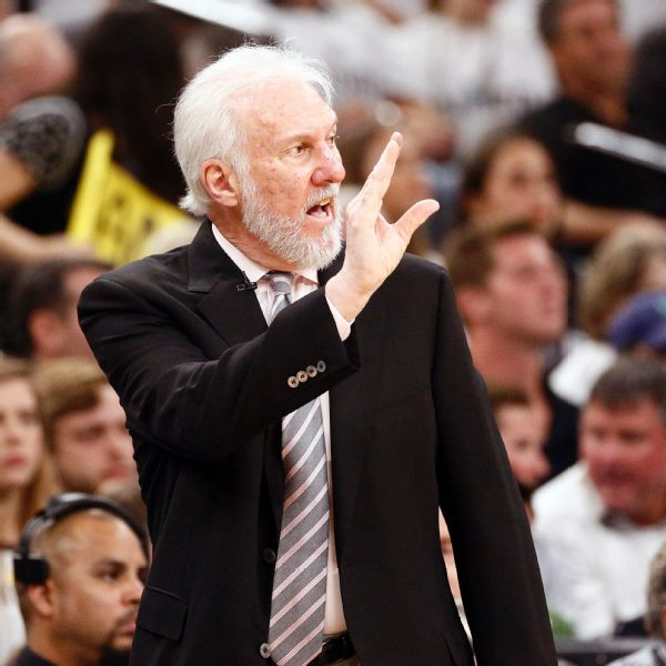 Spurs' Pop, 71, says bubble is safest place to be