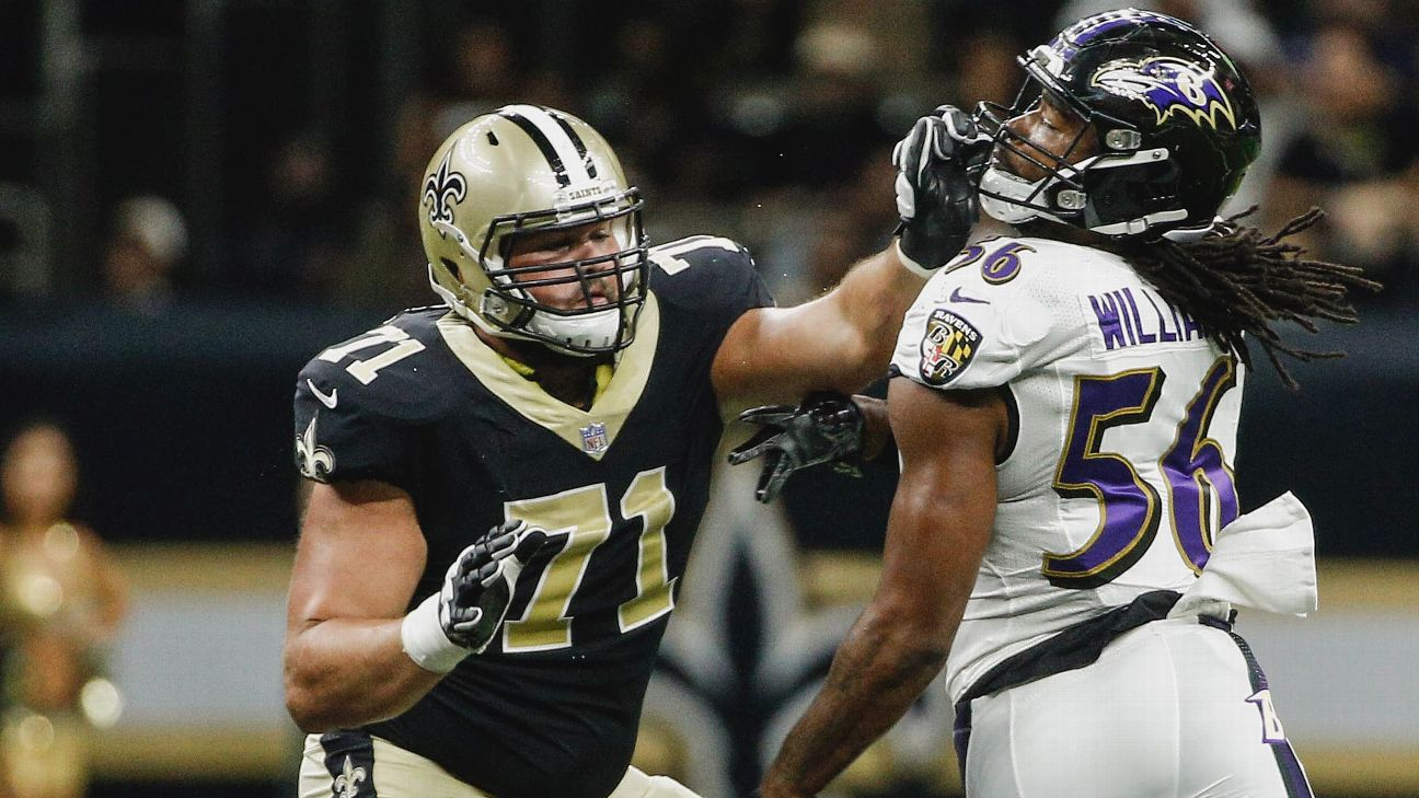 The stage has not been too big' for Saints rookie Ryan Ramczyk - New  Orleans Saints Blog- ESPN