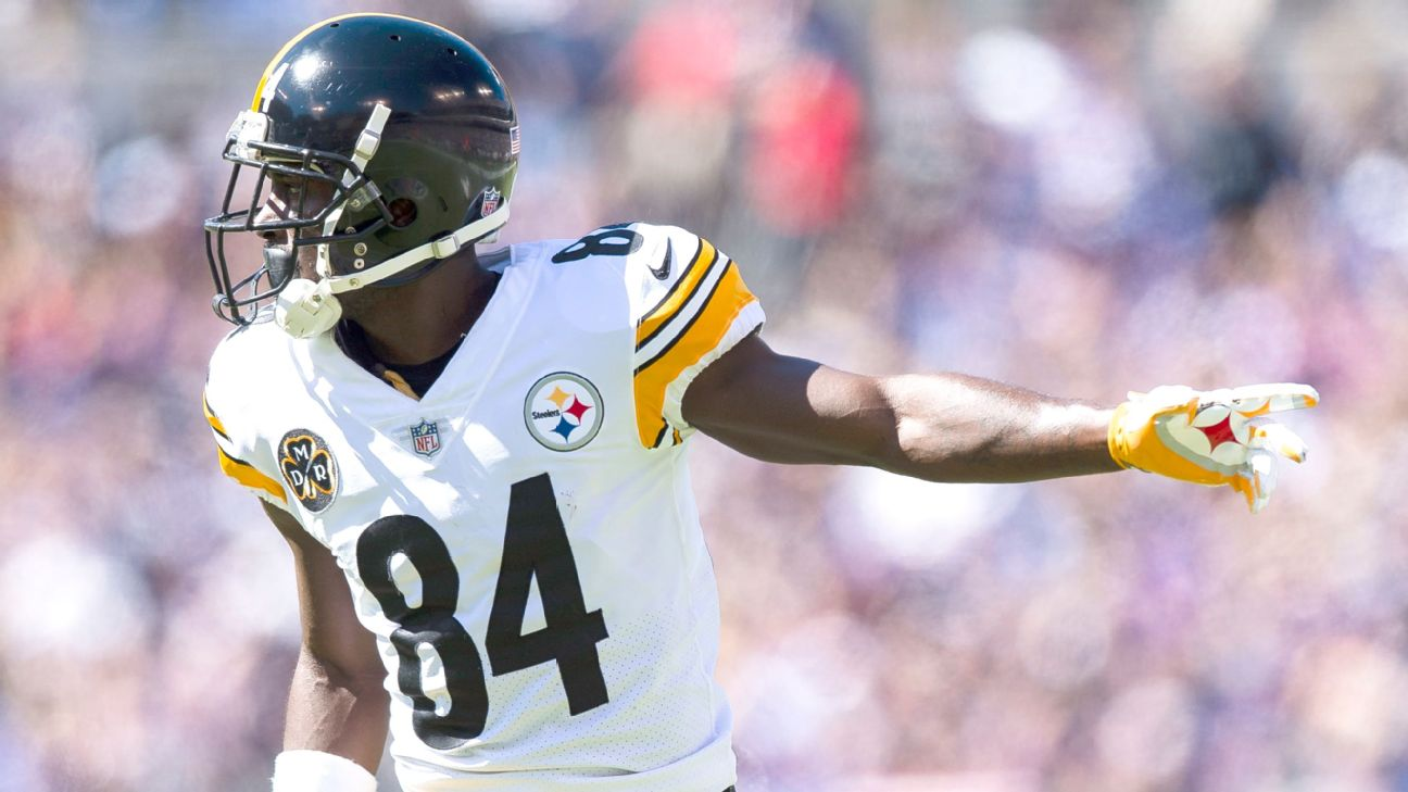 6e4c0164d Grading the Antonio Brown trade from Steelers to Raiders  Who won ...