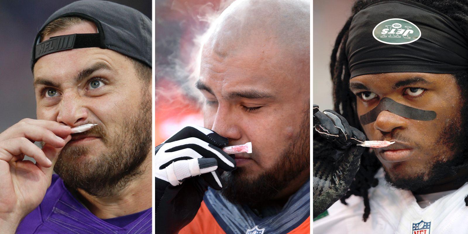 Ezekiel Elliott, Clay Matthews are just a few of the NFL's smelling