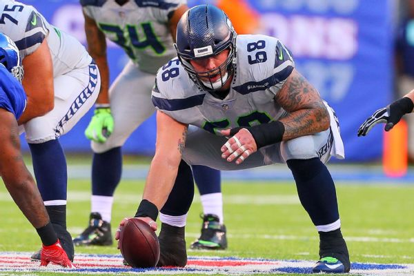Source: Ex-Seahawks C Britt signs with Texans
