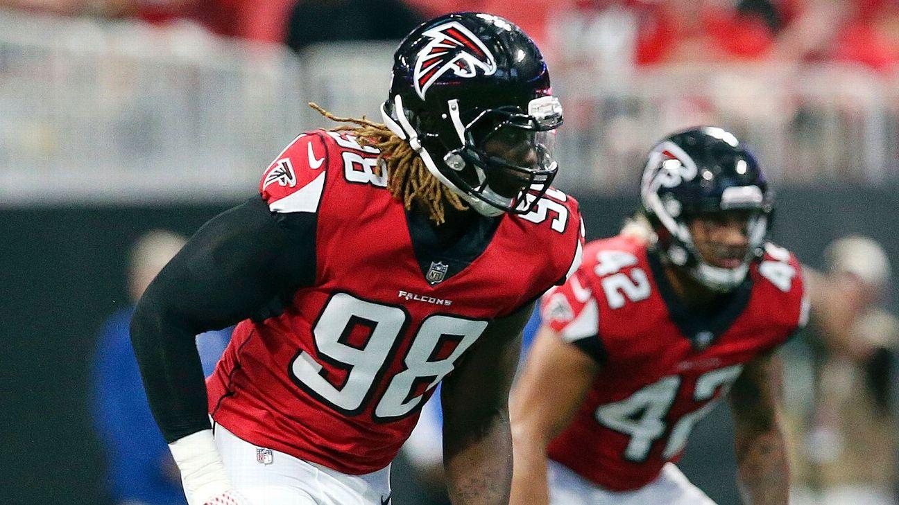Falcons decline 5th-year option on DE Takk McKinley