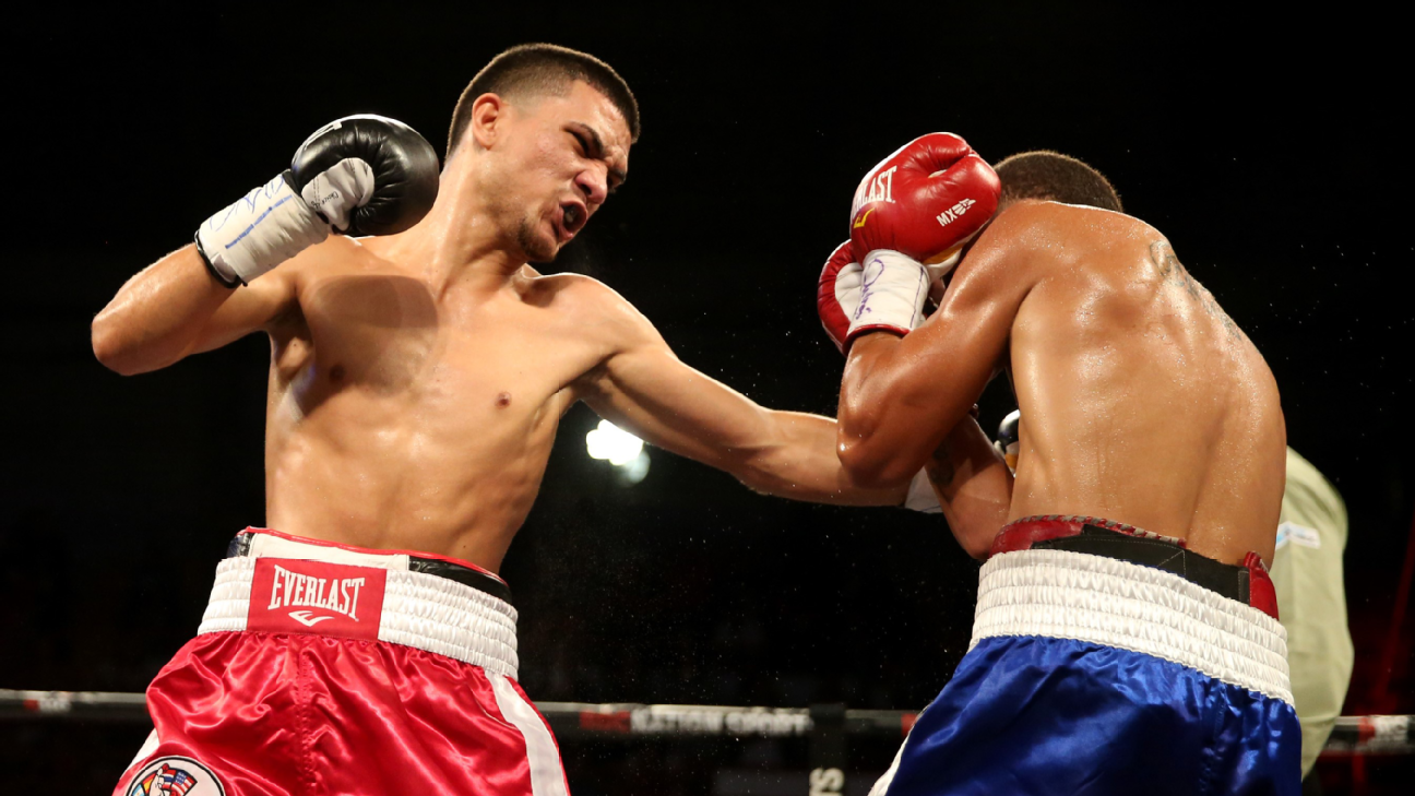 Alexis Texas Boxing junior bantamweight jose martinez fighting for family