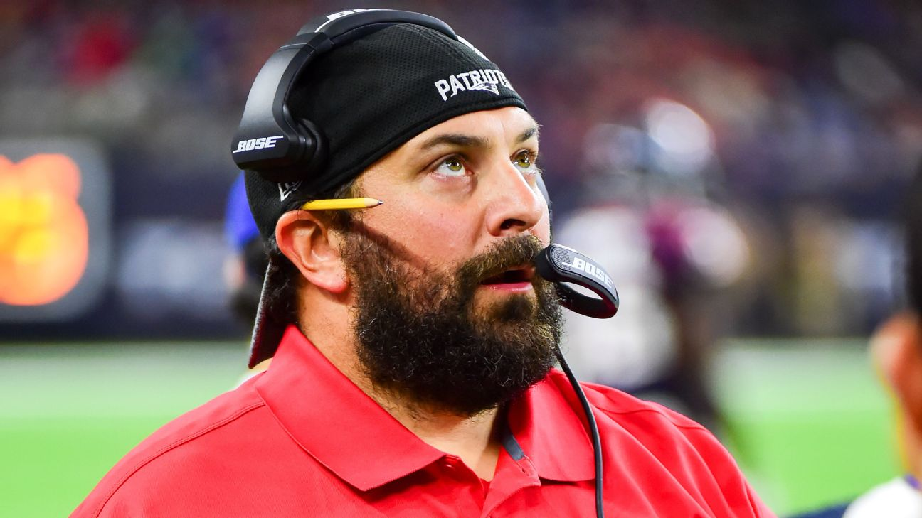 New Detroit Lions coach Matt Patricia, the ex-engineer with epic beard -  Detroit Lions Blog- ESPN