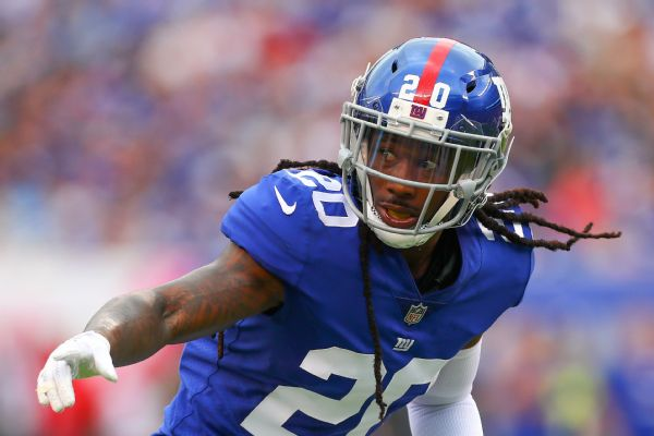Giants waive CB Jenkins after 'offensive' tweet