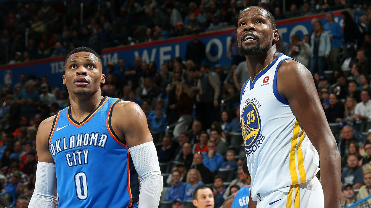 91d43831941e Kevin Durant says there s  no story  to accidental like of Russell ...